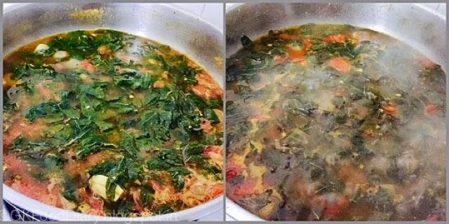 Agathi Keerai Kuzhambu Recipe 6