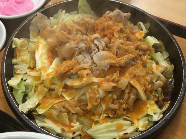 大盛軒 鉄板麺アップ