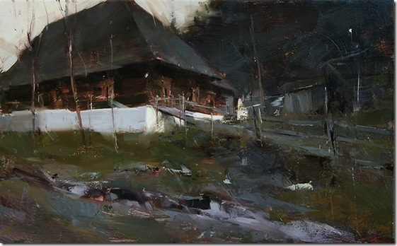 cabin-in-the-forest-glade-Tibor-Nagy-ENKAUSTIKOS