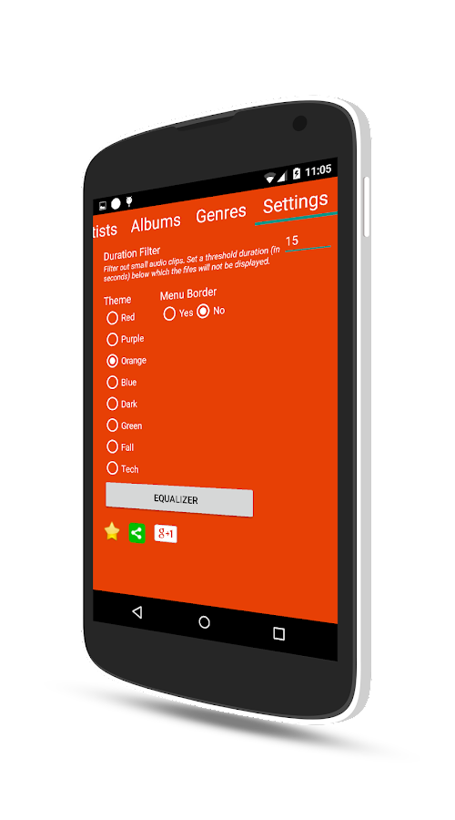 Music Player Pro Screenshot 4