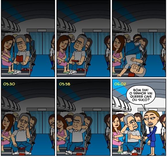 Edison - 0603 - Dormindo no avião