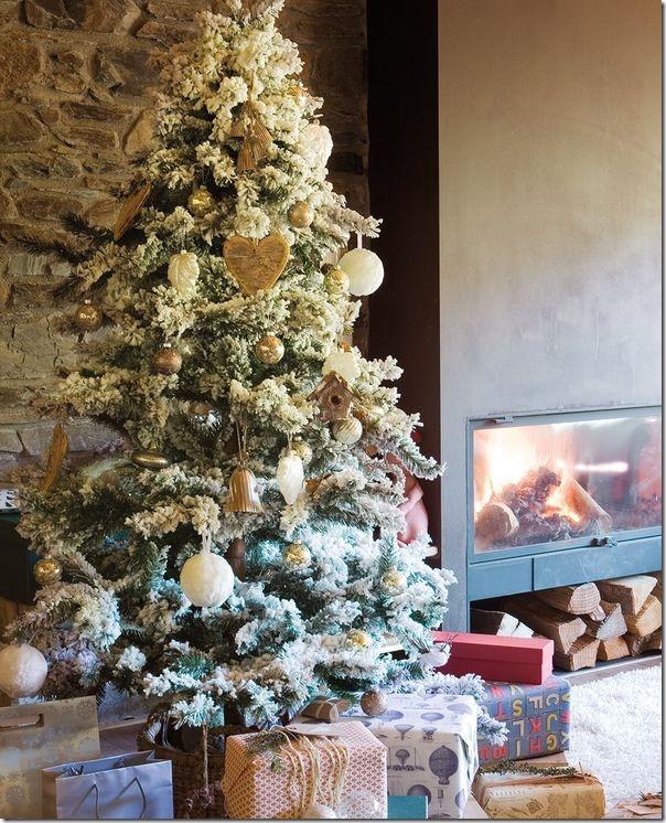 8 idee per decorare l 39 albero di natale case e interni - Decorazioni per interni case ...