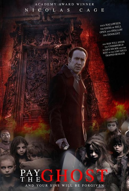 Pay The Ghost - Movie Poster