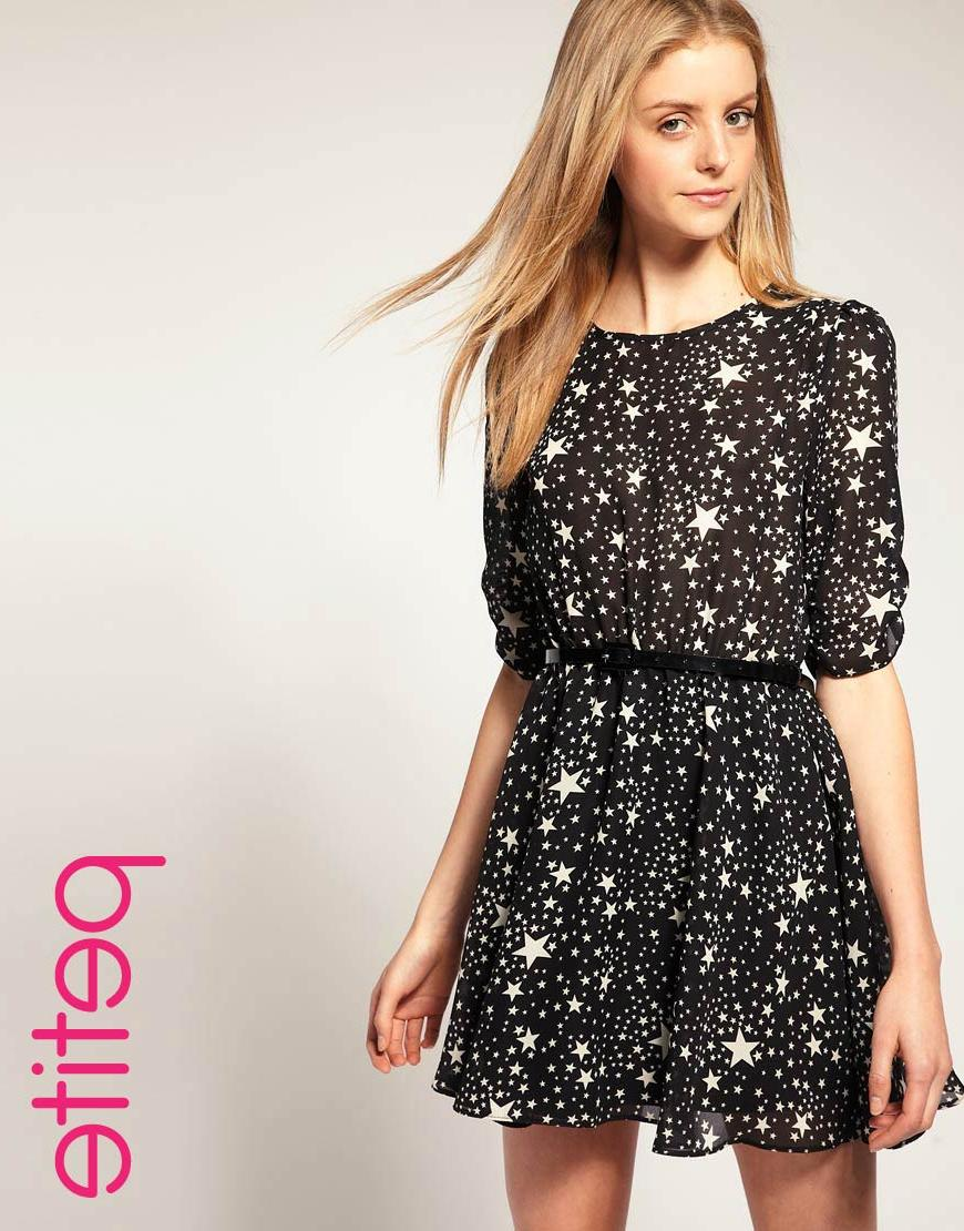 Asos Petite Belted Dress with