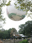 At the zoo, you can go up in a tethered hot air balloon for an allegedly awesome view.