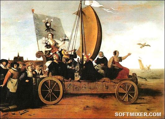 800px-Flora's_Malle-wagen_van_Hendrik_Pot_1640
