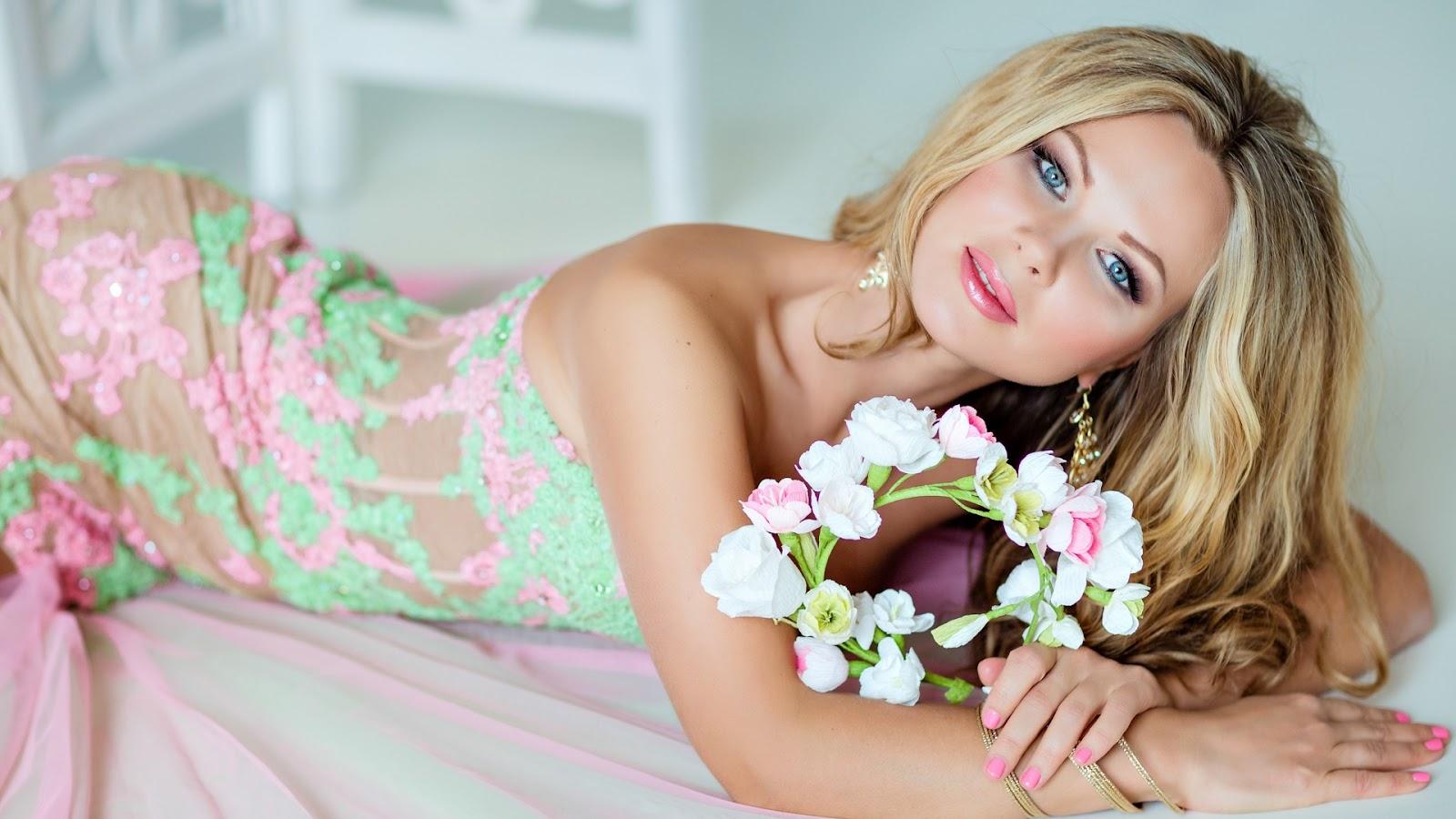 Просто красивые девушки на фото блондинки 16 фотография