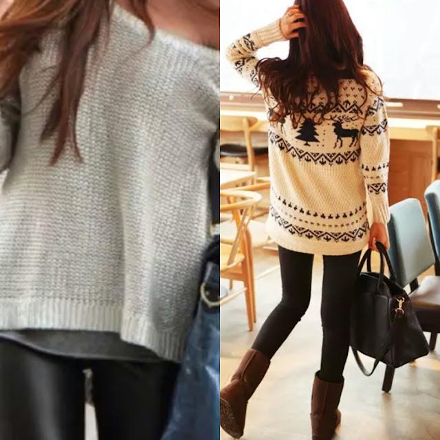 calça legging, blusa de lã, como usar, inverno, tendencia
