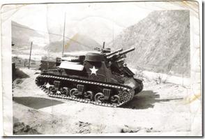Raymond Savat's tank