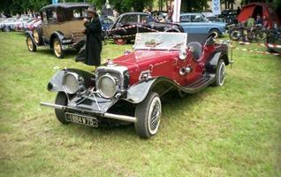 1987.05.17-067.11 réplique Jaguar SS 100