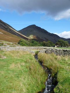 Fog Mire Beck to Great Gable
