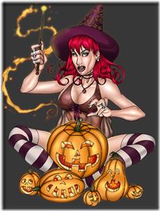 tubes png brujas halloween (4)