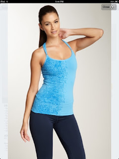 STyle Athletics NUX ACtivewear Blue Tank Top