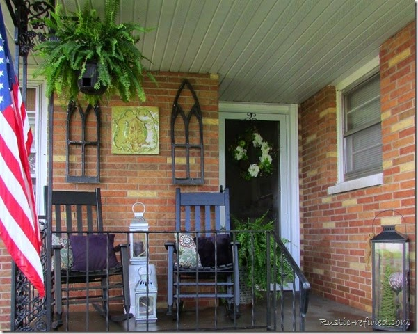 Decorating A Small Porch