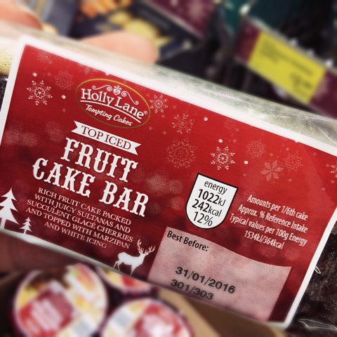Aldi Specially Selected Iced Fruit Cake