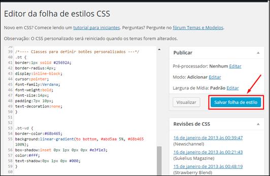 Crie botões personalizados no Wordpress - Visual DicasCrie botões personalizados para o seu Blogger - Visual Dicas