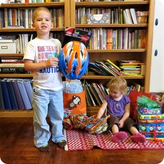 Nolan's Fourth Birthday Presents