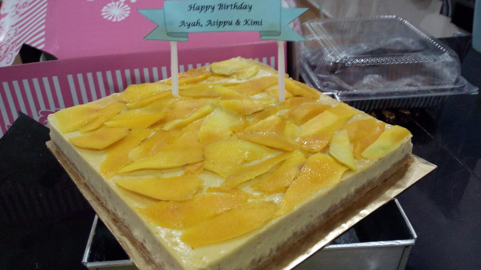 recipe: resepi kek mango cheese leleh [16]