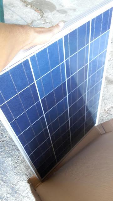 poids d'un panneau solaire