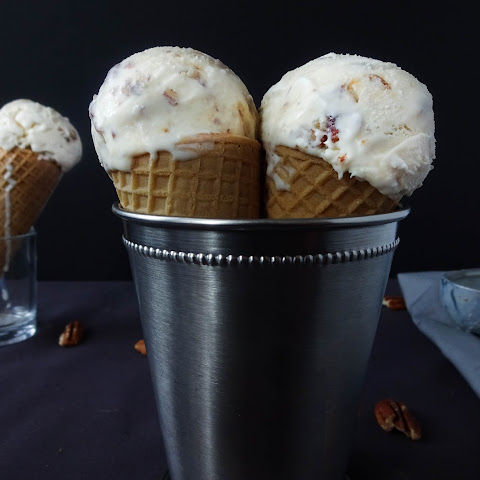 No Churn Butter Pecan Ice Cream
