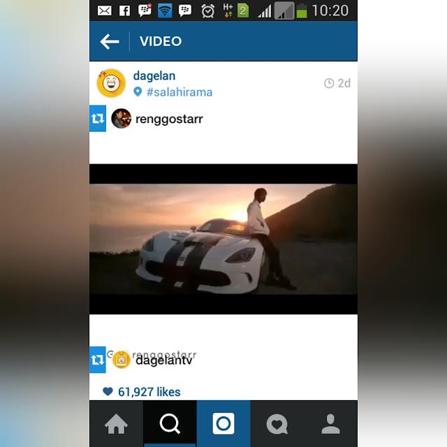 Tips biar direpost @dagelan. Membuat video lucu @dagelan. Edit video seperti @dagelan. Pengalaman di-repost dagelan. Cara menggunakan vivavideo.