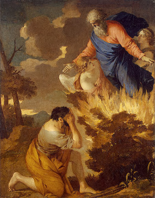 Sébastien Bourdon - Moses and the Burning Bush