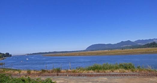 Highway 101 south of Astoria, north of Tillamook