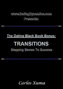 Cover of Carlos Xuma's Book The Dating Black Book Bonus Transitions