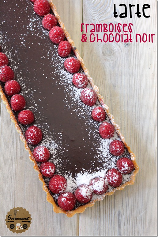 Tarte Framboises Chocolat Noir 2