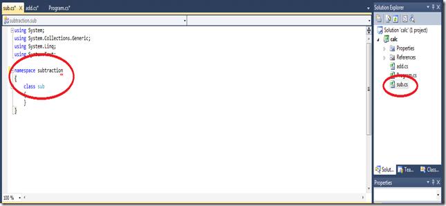 namespace-subtraction