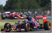 Max Verstappen con la Toro Rosso