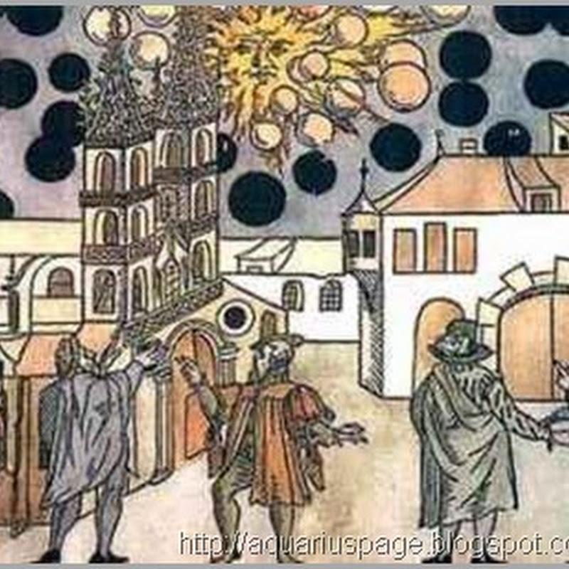 A Guerra dos Óvnis na Idade Média