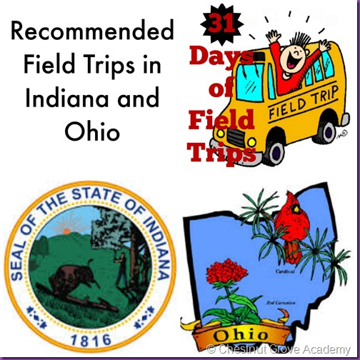 field trips indiana and ohio