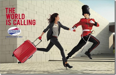 American Tourister The World is Calling - London
