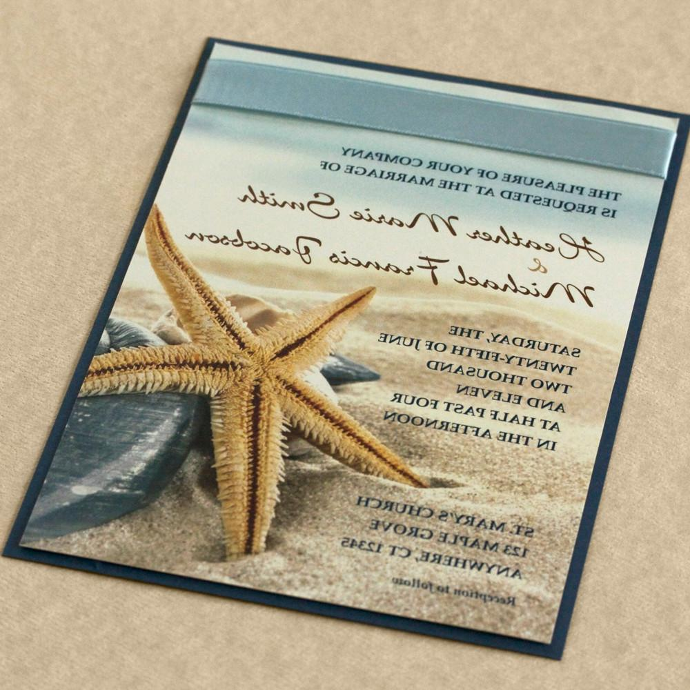 Starfish on the Beach Wedding