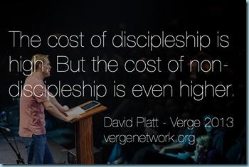 Cost of Discipleship David Platt
