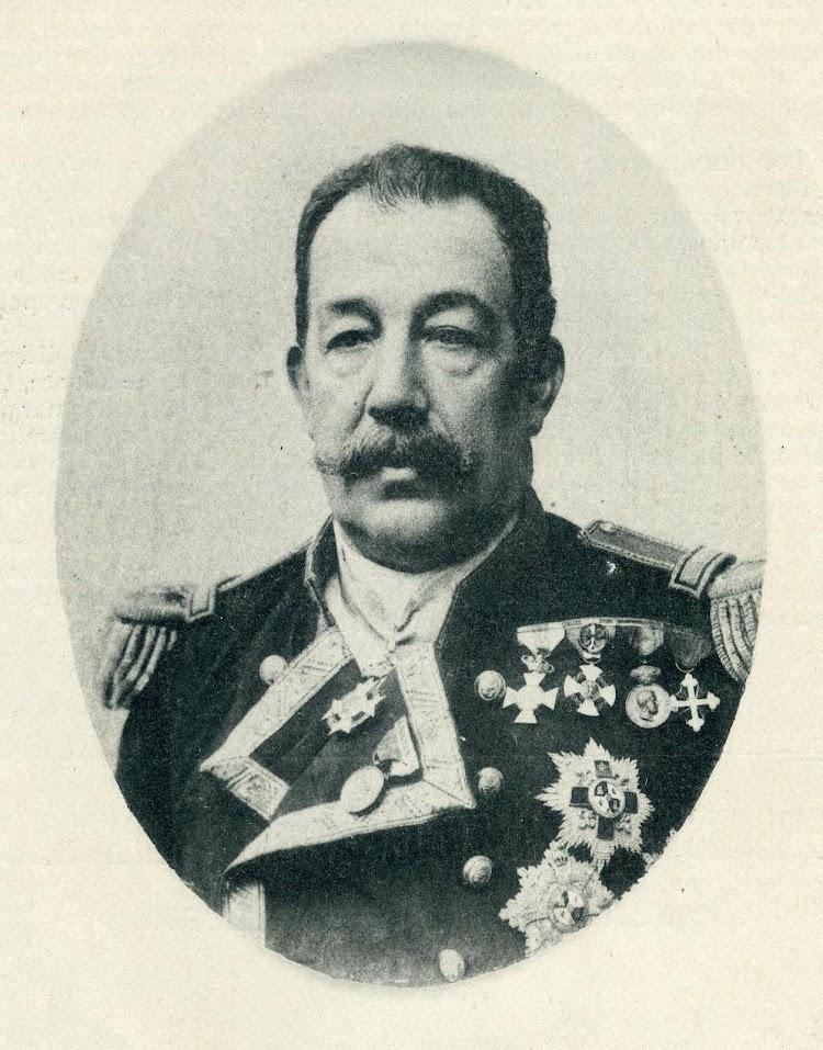D. Emilio Díaz Moreu. Comandante del CRISTOBAL COLON. De la revista El Mundo Naval Ilustrado. Año 1898.JPG