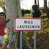53e vakantiefietserstickertje. Zomaar eens bij Mas d'Avignon.