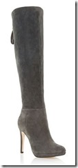 Dune high heel platform over the knee boot