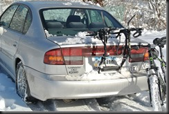 And the Subaru Legacy!    Subies RULE the Snow!