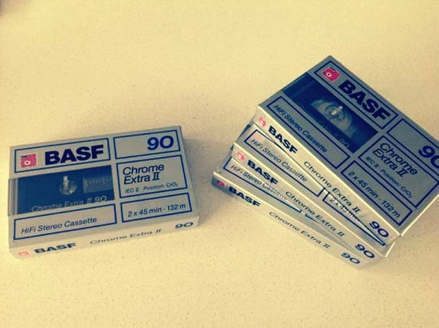 BASF Tapes Front Side