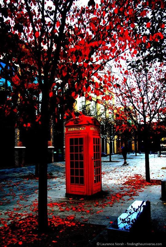 UK Two Week Itinerary - London phone box