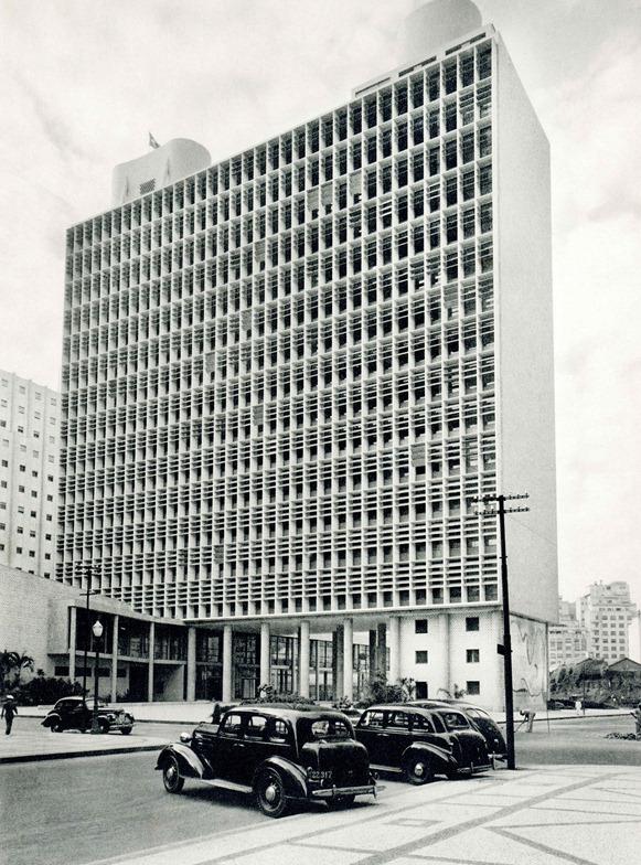 Ministério da Educação e Saúde di Rio de Janeiro