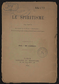 Cover of Papus's Book Le Spiritisme (in French)