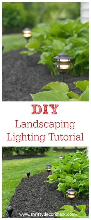 DIY landscaping tutorial