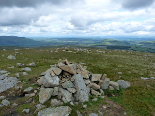 Towards the Pennines from Hart Side Summit.