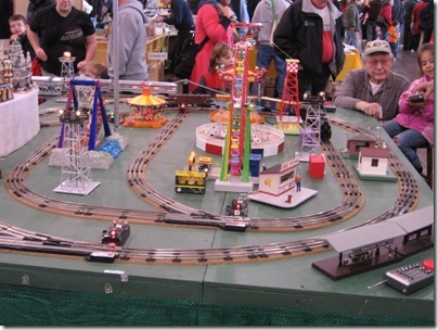 IMG_0924 Train Collectors Association - Treasure Valley Chapter Children's Hands-On Layout at the WGH Show in Puyallup, Washington on November 21, 2009