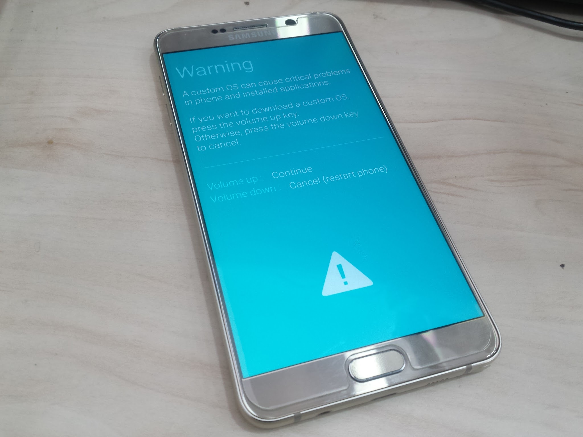 Image of Flashing Tutorial for Firmware Update Samsung Galaxy Note 5