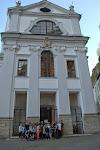Die Gruppe vor der ukrainisch-griechisch katholischen Kirche in Salzburg