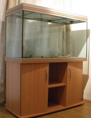 Image of tank as cabinet